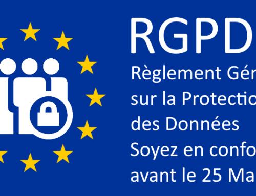 RGPD – Soyez en conformité avant le 25 Mai 2018
